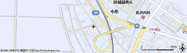 山形県酒田市砂越上川原169周辺の地図