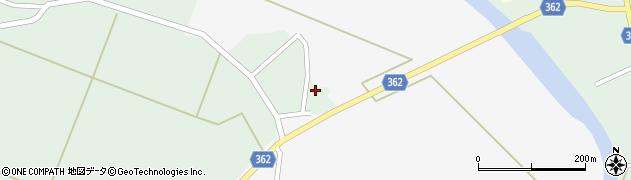 山形県酒田市上北目谷地田1周辺の地図