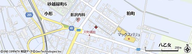 山形県酒田市砂越粕町93周辺の地図