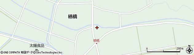 山形県酒田市楢橋周辺の地図