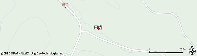 岩手県一関市藤沢町増沢日当周辺の地図