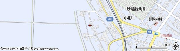 山形県酒田市砂越上川原334周辺の地図