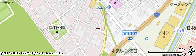 山形県酒田市両羽町276周辺の地図
