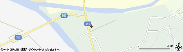 山形県酒田市田沢赤田淵周辺の地図