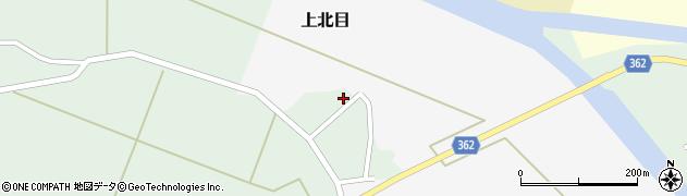 山形県酒田市上北目谷地田12周辺の地図