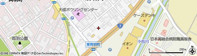 山形県酒田市東両羽町7周辺の地図