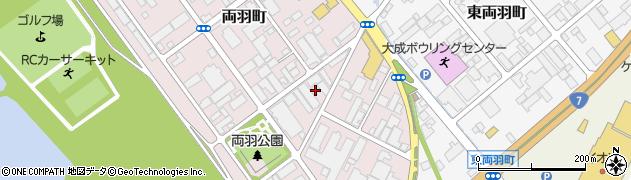 山形県酒田市両羽町8周辺の地図