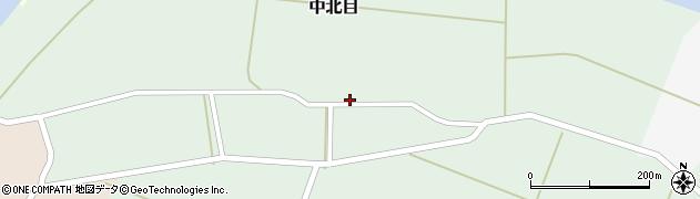 山形県酒田市中北目村立84周辺の地図