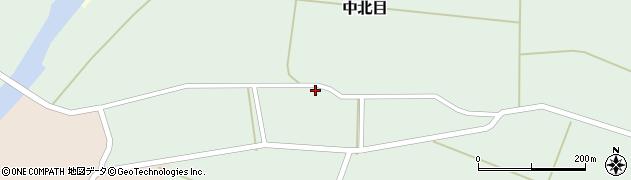 山形県酒田市中北目村立78周辺の地図