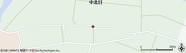 山形県酒田市中北目村立82周辺の地図