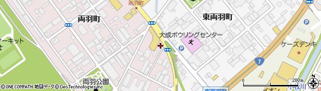 山形県酒田市両羽町240周辺の地図