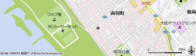 山形県酒田市両羽町10周辺の地図