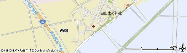 山形県酒田市小牧64周辺の地図