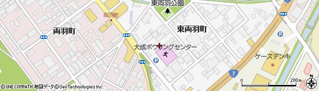 山形県酒田市東両羽町6周辺の地図