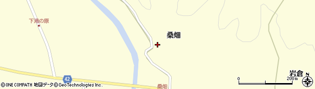宮城県栗原市栗駒沼倉桑畑周辺の地図