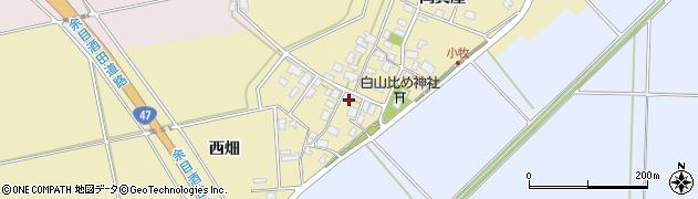山形県酒田市小牧62周辺の地図