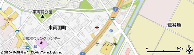 山形県酒田市東両羽町4周辺の地図