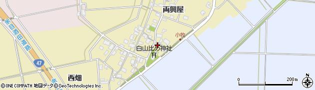 山形県酒田市小牧51-1周辺の地図
