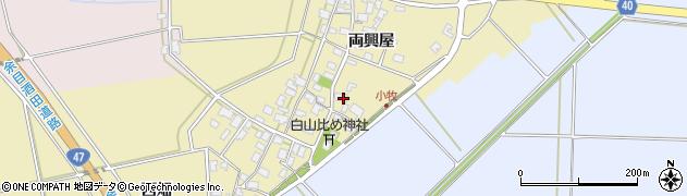山形県酒田市小牧50周辺の地図