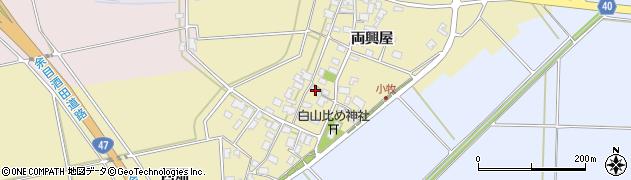 山形県酒田市小牧91周辺の地図