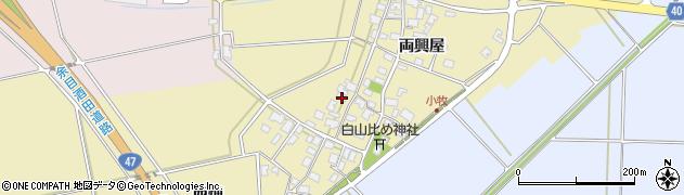 山形県酒田市小牧93周辺の地図