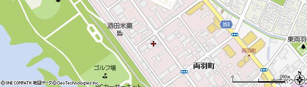 山形県酒田市両羽町4-2周辺の地図