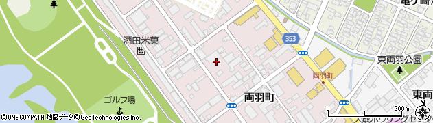 山形県酒田市両羽町5周辺の地図