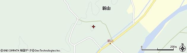 山形県酒田市楢橋新山18周辺の地図