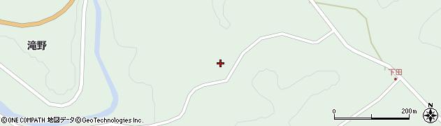 岩手県一関市藤沢町増沢(九十村)周辺の地図