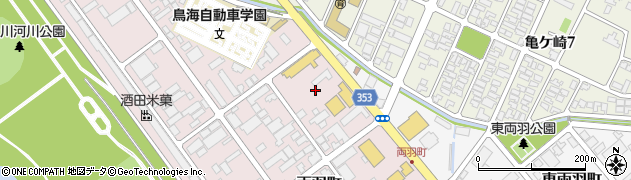 山形県酒田市両羽町6周辺の地図