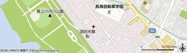 山形県酒田市両羽町3周辺の地図