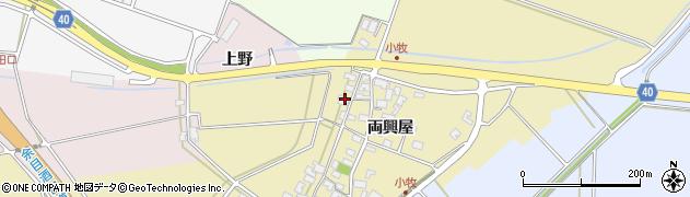 山形県酒田市小牧両興屋109周辺の地図