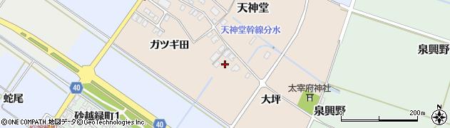 山形県酒田市天神堂6周辺の地図