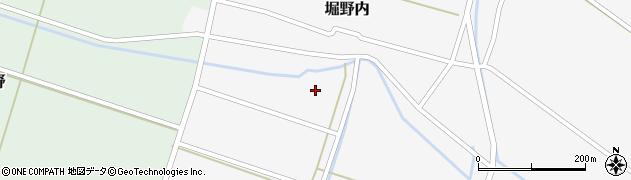 山形県酒田市堀野内14周辺の地図