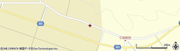 山形県酒田市山谷上川原14周辺の地図