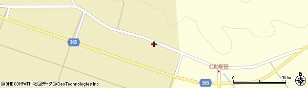 山形県酒田市山谷上川原41周辺の地図