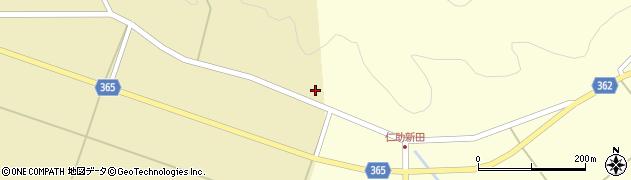 山形県酒田市山谷滝谷1周辺の地図
