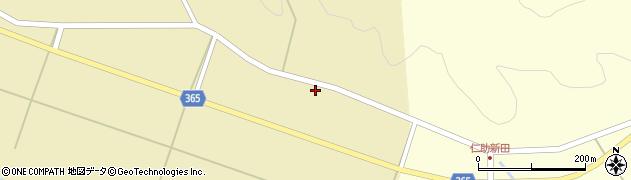 山形県酒田市山谷上川原22周辺の地図