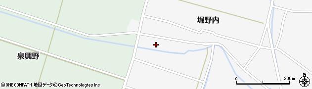 山形県酒田市堀野内78周辺の地図