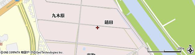 山形県酒田市宮野浦錆田周辺の地図