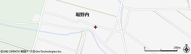 山形県酒田市堀野内110周辺の地図