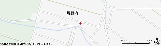 山形県酒田市堀野内111周辺の地図