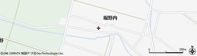 山形県酒田市堀野内16周辺の地図