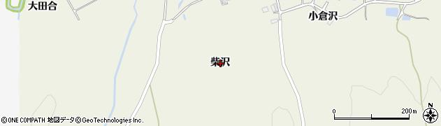 岩手県一関市滝沢柴沢周辺の地図