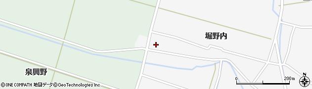 山形県酒田市堀野内33周辺の地図