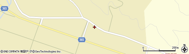 山形県酒田市山谷上川原55周辺の地図