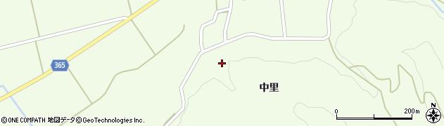 山形県酒田市中野俣中里63周辺の地図
