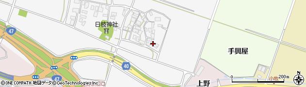 山形県酒田市大野新田村南28周辺の地図