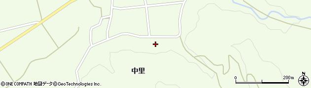 山形県酒田市中野俣中里29周辺の地図