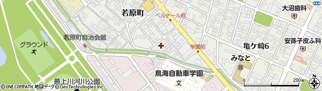 山形県酒田市若原町7周辺の地図